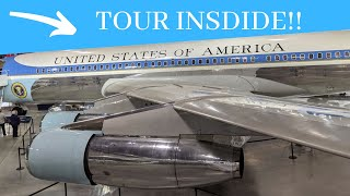 TOUR INSIDE OF AIR FORCE ONE