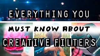 MUST WATCH free creative filters for PHOTO VIDEO