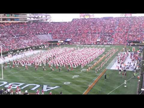 Auburn and Alabama bands play together