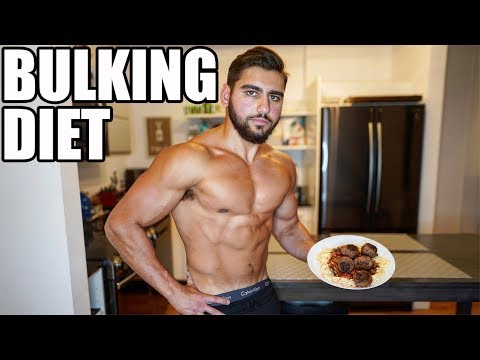 Full Day Of Eating For Extreme Muscle Gain | Bulking Diet thumbnail