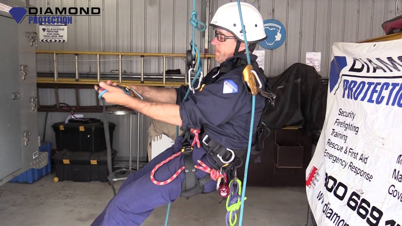 Disaster Management: Vertical Rescue: How to Ascend & Descend Past on a  Knot - YouTube