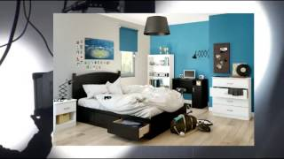 South Shore Storage Full Bed Collection 54-inch Full Mates Bed Pure Black