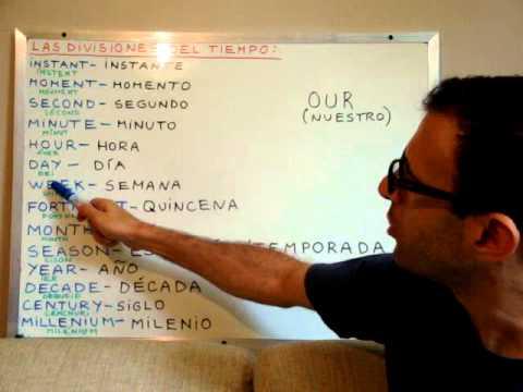 Curso de ingl s 84 las divisiones del tiempo en ingl s for Tiempo aprender ingles