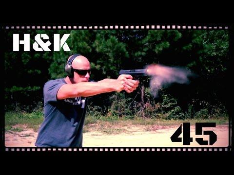 Heckler & Koch HK 45 Handgun Review (HD)