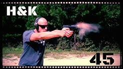 Heckler & Koch HK 45 Handgun Review (HD)