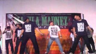 Mix n Match crew performs at Manila Madnezz 2