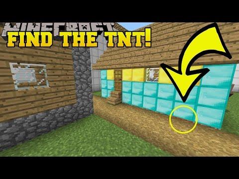 Minecraft: FIND THE TNT!!! - Custom Map