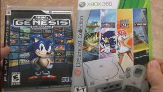 Classic Game Room - DREAMCAST COLLECTION vs. GENESIS COLLECTION review