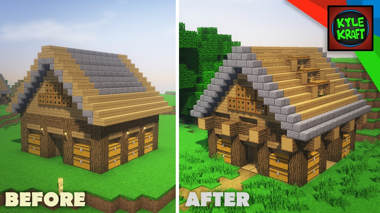 Transforming Subscribers Minecraft Houses 8x8 Survival House Youtube