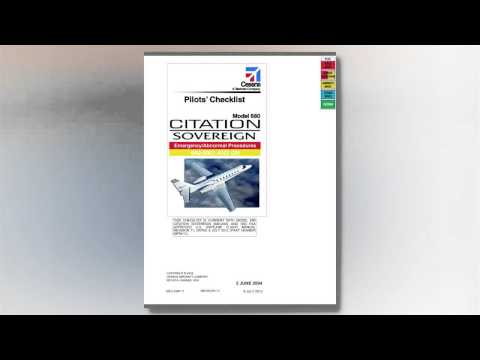 Cessna Electronic Checklists Explained