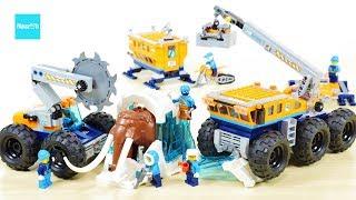 レゴ シティ 北極探検基地 60195 セット説明 7:12~ / LEGO CITY Arctic Mobile Exploration Base