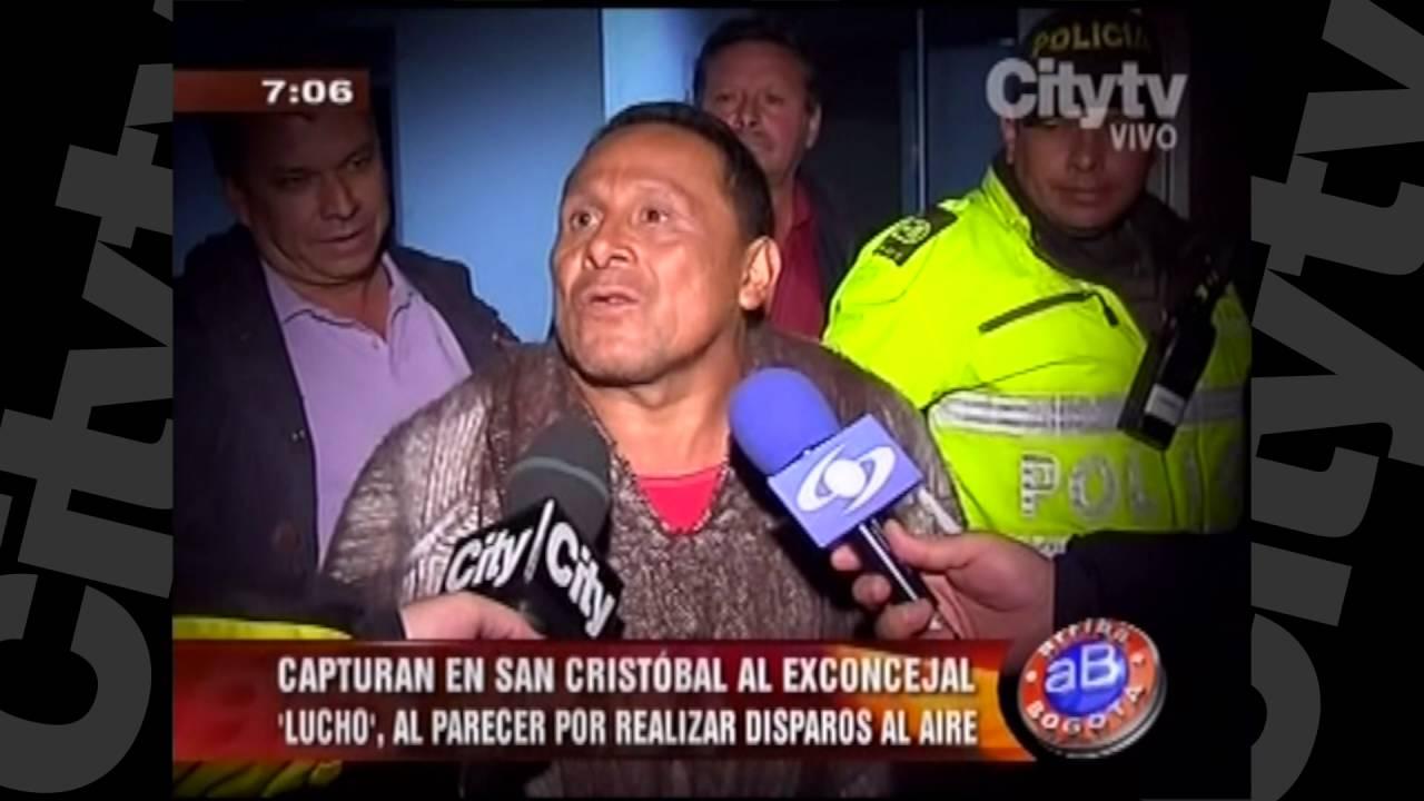 """Capturan Al Exconcejal """"Lucho"""", Al Parecer Por Realizar"""