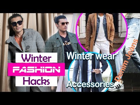 WINTER FASHION HACKS FOR MEN || 5 DIFFERENT WINTER OUTFITS || #FASHIONSUTRA || PUSHKAR MEHTA