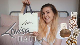 LOVISA HAUL 2020 || Earring try on || £20 budget!