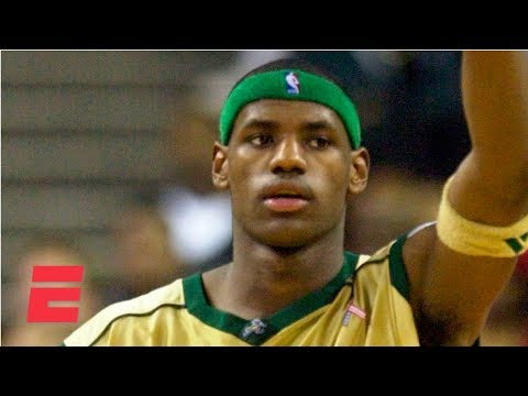 Most Hyped High Schooler of All-Time: LeBron James scores 31 points in 1st national TV game in high school | ESPN Archives