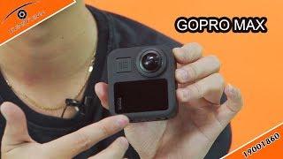 Camera Gopro Max quay 360 độ hành trình, travel blog có gì hay