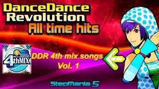 SM5 Dance Dance Revolution series DDR 4th mix vol 1