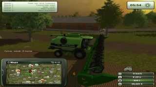 Zagrajmy w Farming Simulator 2013 na multiplayer #21 - Wkońcu nowy kombajn :D