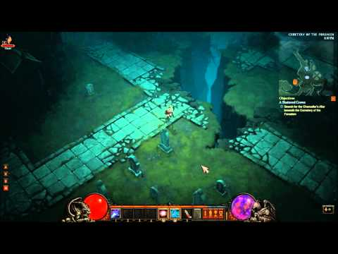 Diablo III Private Beta - Wizard Gameplay Part 3