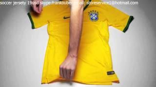 Nike Brazil Match Home Jersey World Cup 2014
