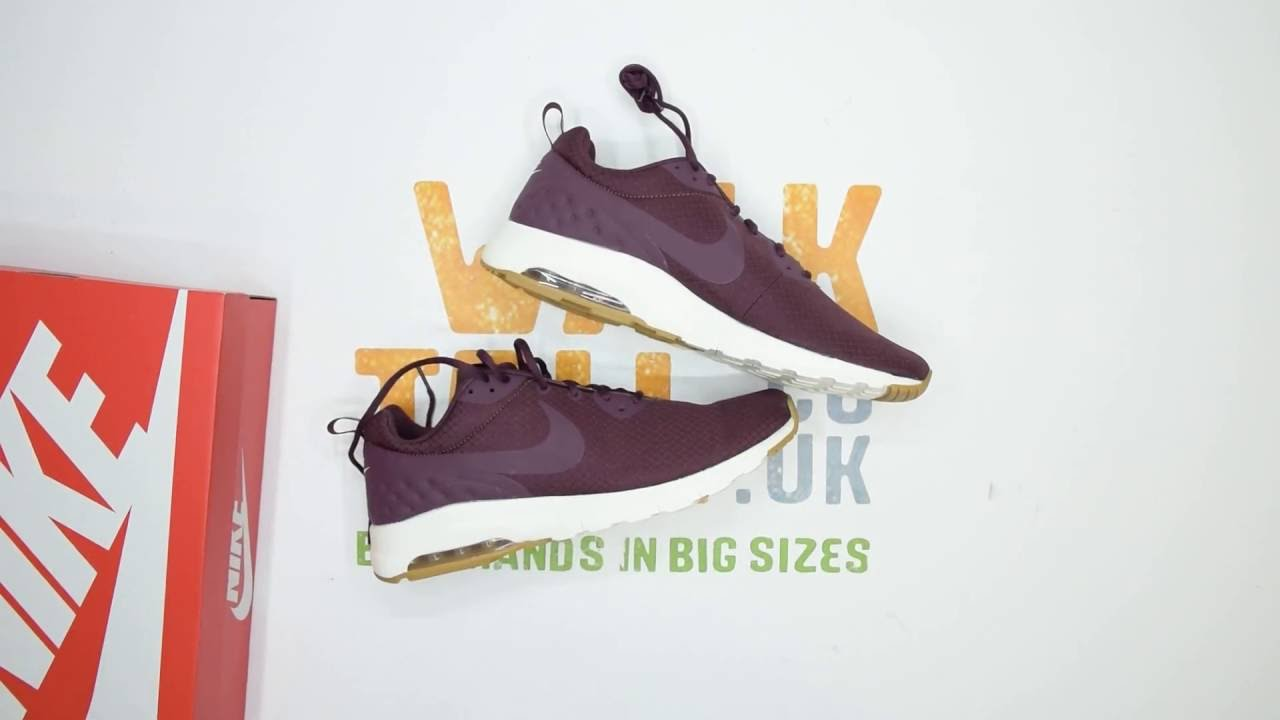 low priced 0c4c5 f3939 Nike Air Max Motion LW SE - Maroon   White - Walktall   Unboxing   Hands on