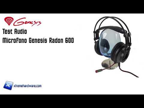 [Test Audio] Microfono Genesis Radon 600