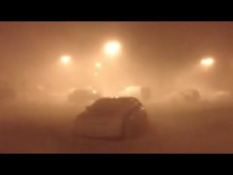 DANGEROUS Winter Storm Draco - extreme blizzard conditions