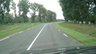 Вот такие шикарные дороги в Белгородской...