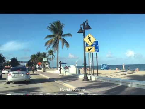Fort Lauderdale long seafront