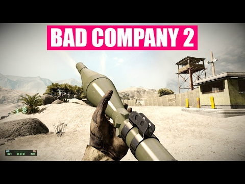Battlefield Bad Company 2 All Weapons Firing In Slow Motion