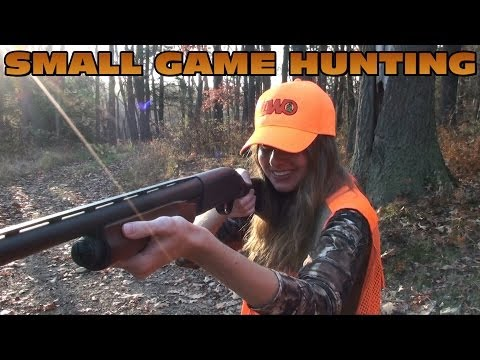 Small Game Hunting Squirrel Grouse And Pheasant