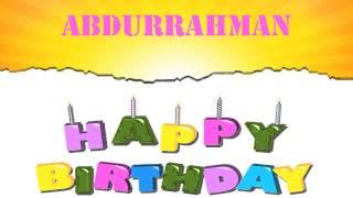 AbdurRahman   Wishes & Mensajes - Happy Birthday