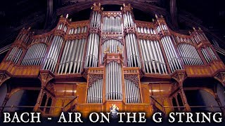 JS BACH - AIR ON THE G STRING - WHITWORTH HALL ORGAN - THE UNIVERSITY OF MANCHESTER - JONATHAN SCOTT