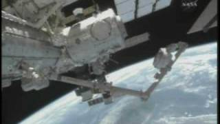 STS-130: Cupola Relocation (time lapse)