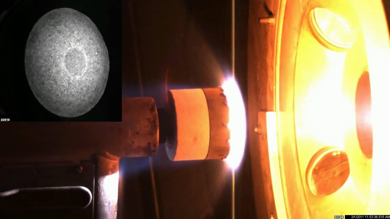 Carbon Dioxide (CO2) Arc Jet test.mpg - YouTube
