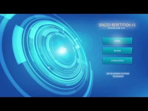 Study Aid Music -Ace Your Exams w/ Spaced-Repetition #3 -Concentration Music, Isochronic Tones Focus