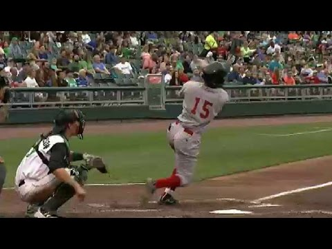 Great Lakes' Ariel Sandoval belts solo shot