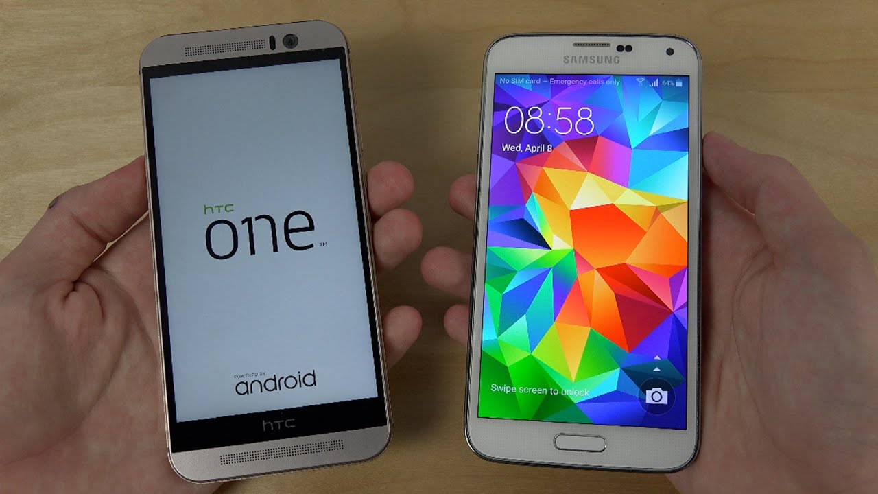 HTC One M9 vs. Samsung Galaxy S5 - Which Is Faster? - YouTubeHtc One Max Vs Galaxy S5