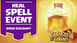 Clash of Clans - Healing Spell Event 2 , All Miners and 5 Healing Spells vs Town Hall 10 (Fail)