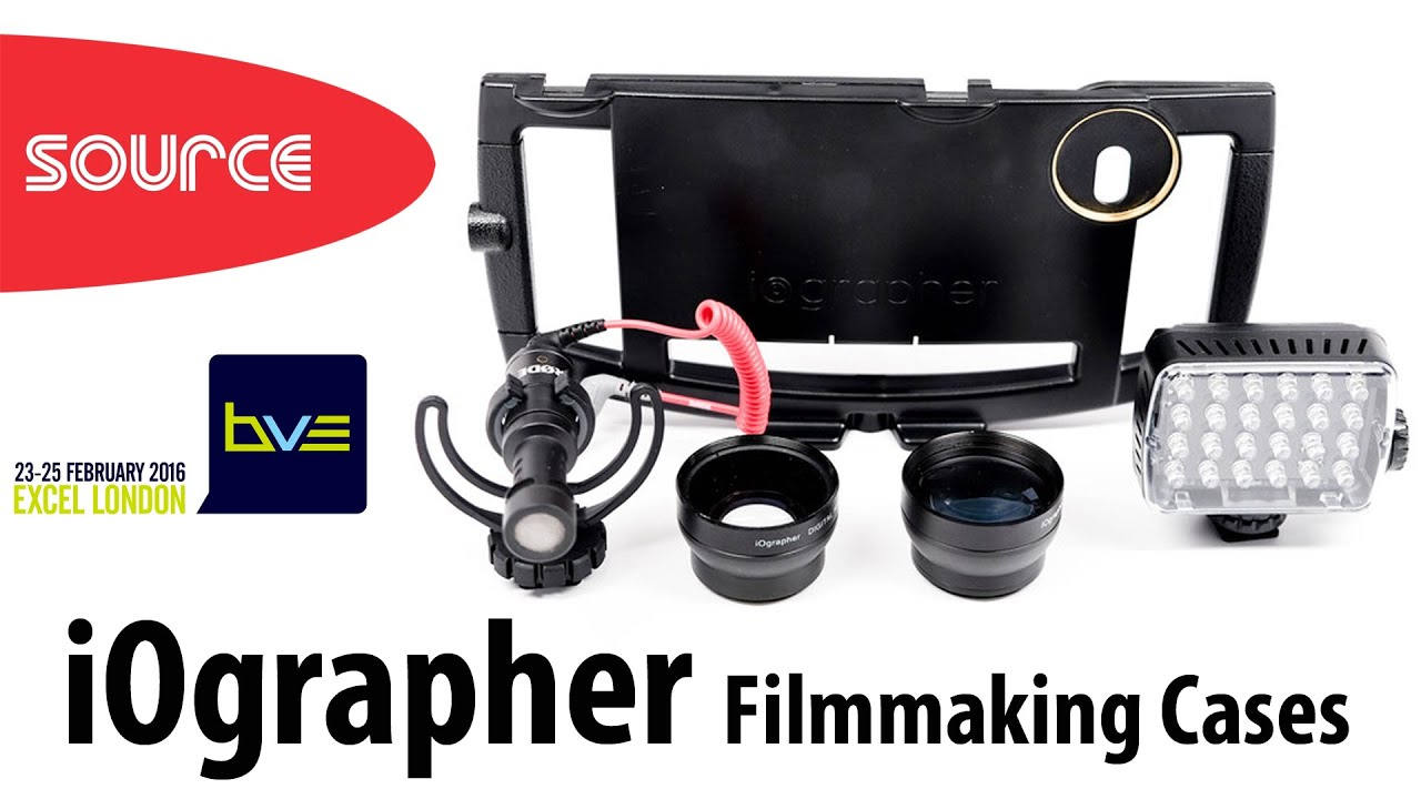 competitive price 4b5c4 36428 Iographer | Filmmaking Cases | Iphone 6s