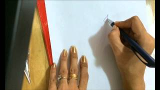 Draw simple ganesha (side face) using mehendi for tattoo 1