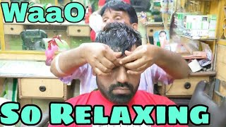 ASMR head massage therapy for deep sleep by indianbarber