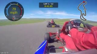 NCK Road Race 2016 @ Thunderhill Group 1 (Shifter Kart)
