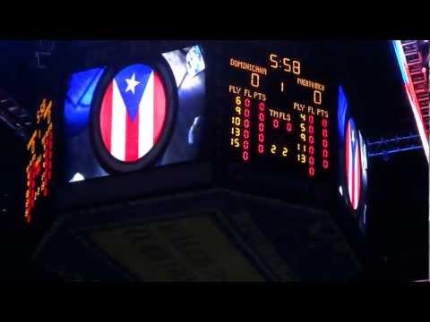 CentroBasket 2012 - Presentacion de los jugadores de Puerto Rico