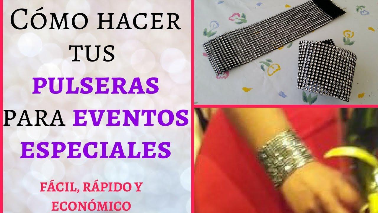 f5b4f04c9ac8 Como hacer tus pulseras para eventos especiales | Como hacer pulseras  fácil, rápido y económico!