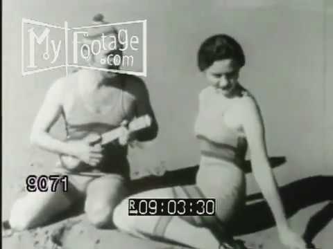 7768c6f24a 1890s, 1900s, 1920s Women Fashion: Swimwear and Bathing Suits - YouTube