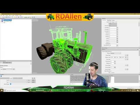 Moding - John Deere 8020, What A MESS! Farming Simulator 19 RDAllen 08 24 2019