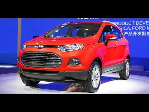 New Ford Ecosport at Beijing on OVERDRIVE