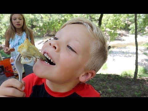 Bluegill Catch and Cook at the Creek