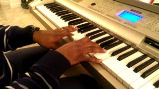 This Christmas- (Chris Brown) piano tutorial (Donny Hathaway)